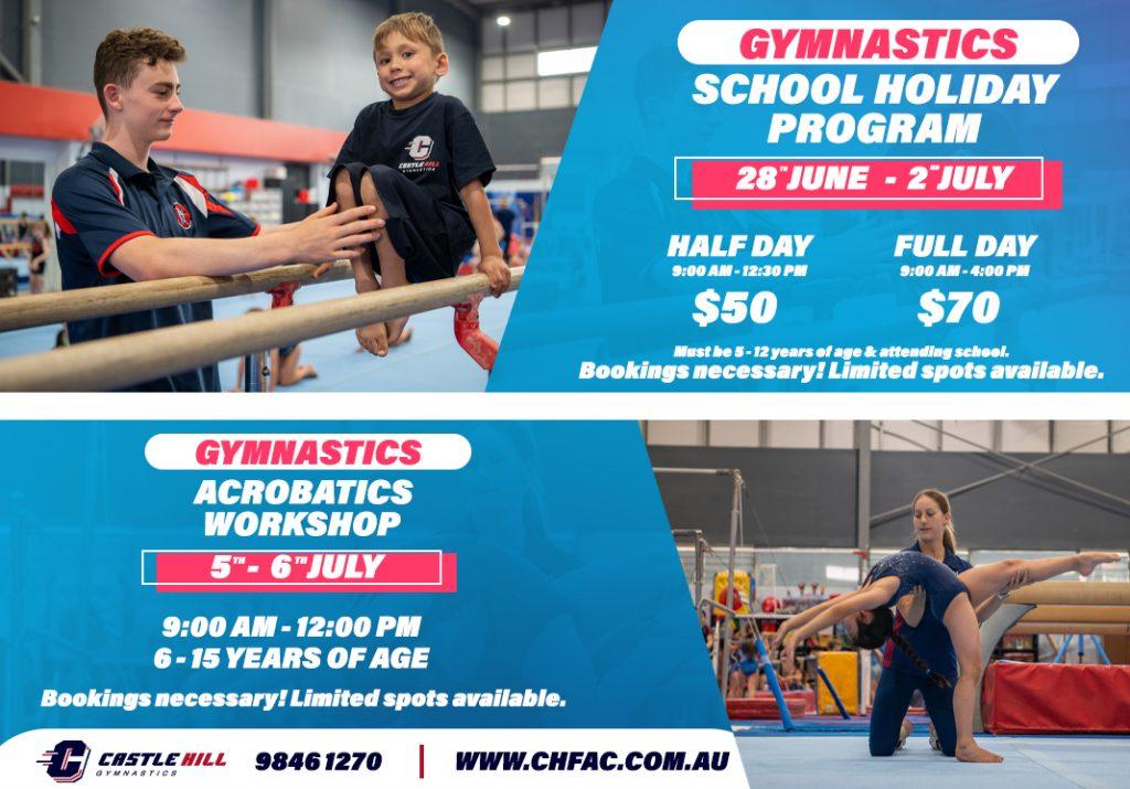 School Holiday Programs – Gymnastics